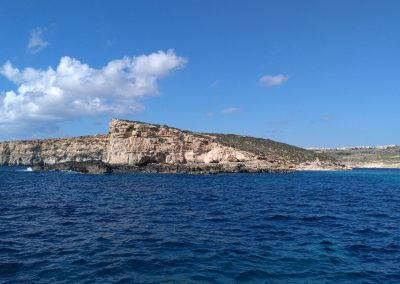 Comino Reef from Blue Lagoon 1