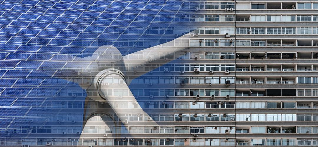 Aký obnoviteľný zdroj energie je vhodný pre bytový dom?