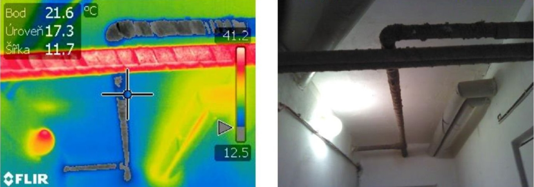 Energetický audit rozvodov tepla